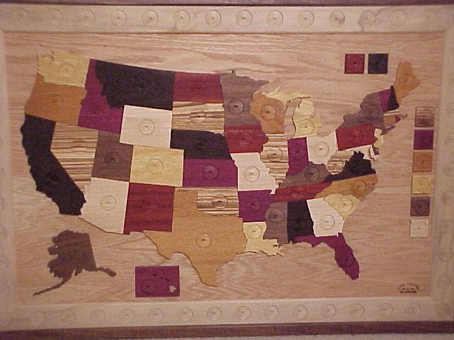 US Quarter Map